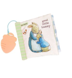 Beatrix Potter - Peter Rabbit Soft Book w Teether