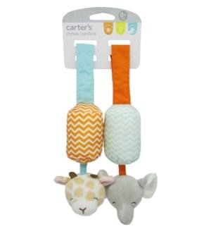 Carter's - Chime Set - Giraffe & Elephant