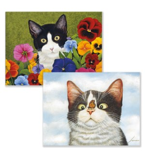 AMERICAN CAT™ ASSORTED BOXED NOTE CARDS