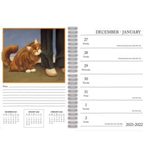 AMERICAN CAT™ 2022 SPIRAL ENGAGEMENT PLANNER