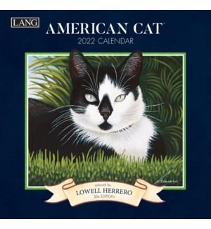 AMERICAN CAT™ 2022 MINI WALL CALENDAR