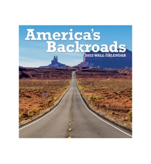 AMERICAN BACKROADS PHOTO MINI WALL CALENDAR