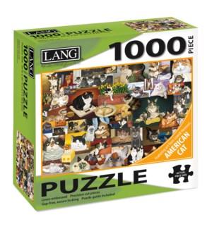 AMERICAN CAT™ PUZZLES-1000PC