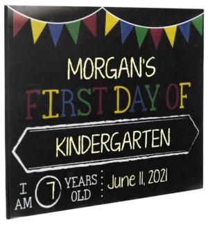 School Days 8x10 Chalkboard Sign