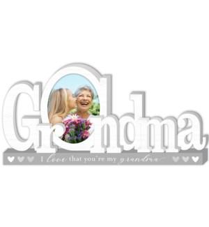 Grandma Platform Letters w/photo