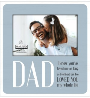 4x6 Dad You Make Every Day Special