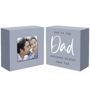 2 pc. Set-Dad Frame & Sign