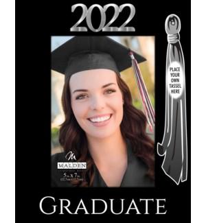 5x7 2002 Graduate w/Tassel