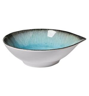 Capri 9.5 in x 2.75 in Salad Bowl