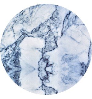 Blue Marble Round 11 in Dinner Plate