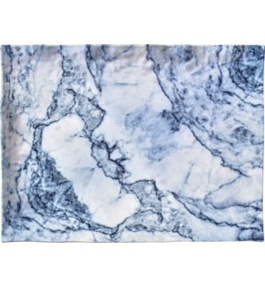 Blue Marble Rectangle 16 x 12 in Serving Tray