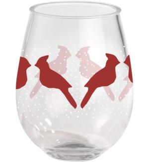 Cardinal & Birch  15 oz.  Stemless Wine