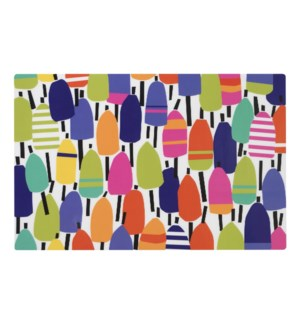 Buoys Rectangle  17x11 in. Vinyl Placemat