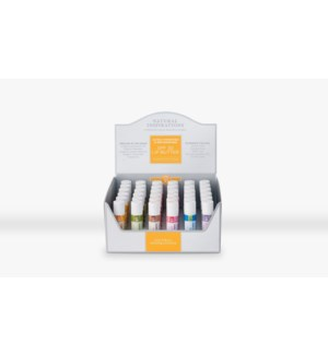 36-pc Assorted SPF 30 Lip Butter Display