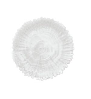 ALABASTER GLASS PLATTER WHITE