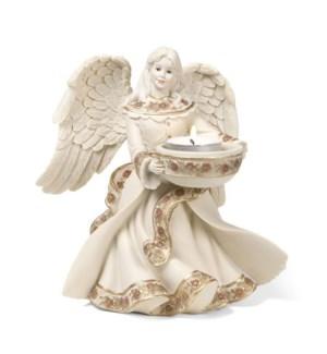 "AS - Angel Tea Light Holder - 7"" Angel Tea Light Holder"