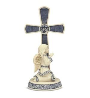 """AS - Heart of Glory Cross w/Child - 5"""" Cross"""