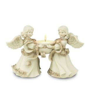 """AS - Friends Tea Light Holder - 5.5"""" Angels"""