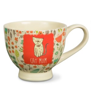 AML - Cat Mom - 17oz Cup