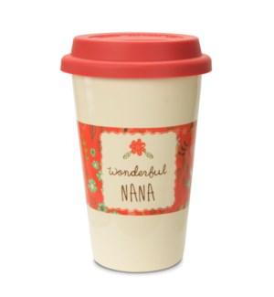 AML - Nana - 11oz Ceramic Travel Mug