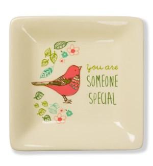 "AML - Someone Special - 4.5"" Ceramic Keepsake Saucer"
