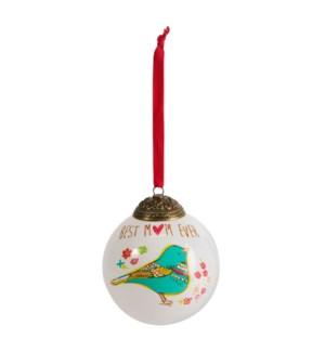 AML - Mom - 80mm Glass Ornament
