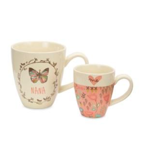 AML - Nana & Me - 12oz & 4oz Cup Set