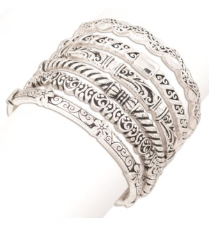 Bracelet-Assort 6 pce Filigree