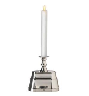 """*SB* 13.5"""" Moving Flame Base Candle"""