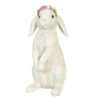 *SB* 12 Bunny with Flowers on Head