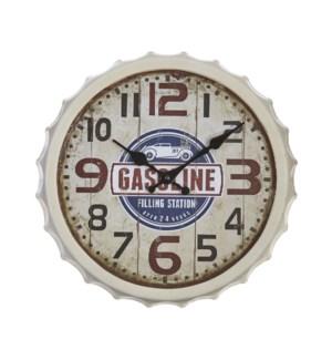 *SB* 13 Bottle Cap Clock