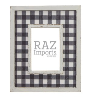 """*SB* 11"""" Checked Picture Frame"""