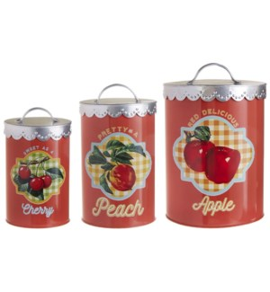 *SB* 10.5 Fruit Canisters