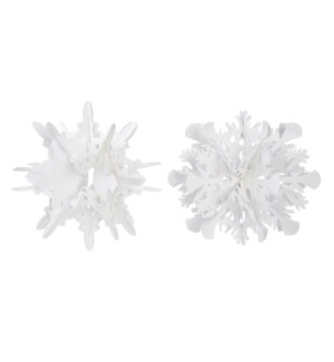 *SB* 12 Cutout Snowflake Ornament