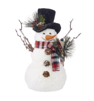 *SB* 12 Top Hat Snowman