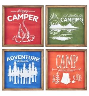 *SB* 14 Camping Framed Wall Art