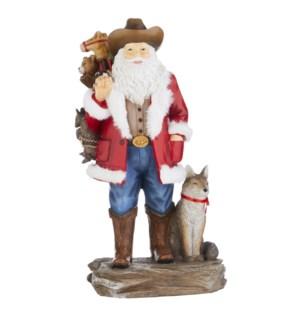 """*SB* 13.25"""" Western Santa"""