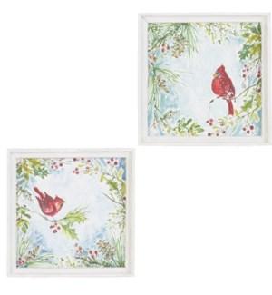 "*SB* 14"" Cardinal Framed Print"