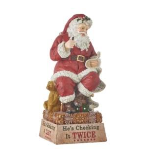 14 Santa Checking List