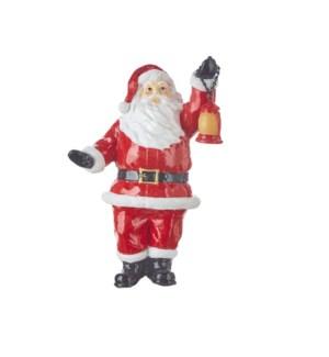 "10.5"" Santa with Lantern"
