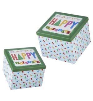 10.25 Happy Holidays Nested Box