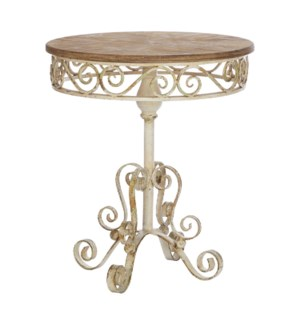 *DC* 29 Distressed Accent Table