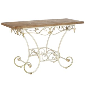 *DC* 47.25 Distressed Console Table