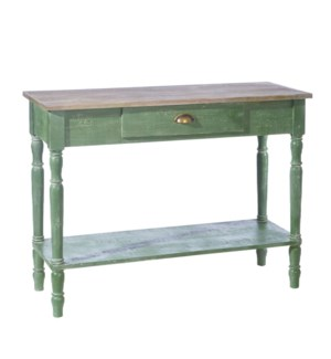 *DC* 41.25 Distressed Console Table