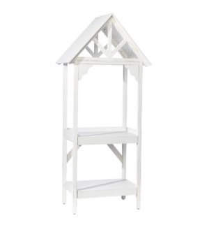 *DC* 6' Gabled Two Tiered Shelf
