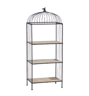 *DC* 4.25' Etagere with Bird Finial