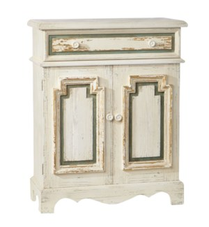 *DC* 40 Distressed Chest