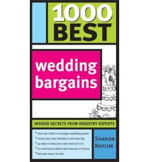 1000 Best Wedding Bargains