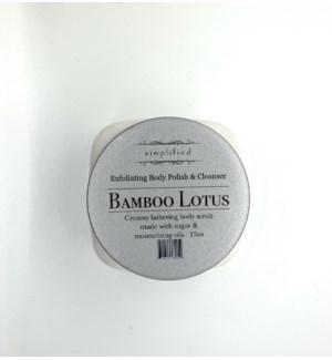 15 oz body polish - bamboo lotus