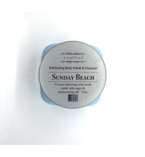 15 oz body polish - sunday beach